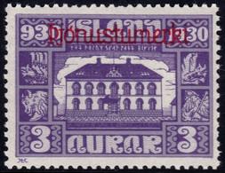 ✔️ Island Iceland 1930  - Service Officials - Allthing 1000 Years - Mi. 44 * MH - €20 Depart 1,99 - Dienstpost