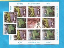 KOS-SRB 1  KOSOVO EUROPA CEPT  2004  JETZ KAUFEN  BRIEFMARKEN  FUER SAMMLUNG-GUTE QUALITAET  MNH - Kosovo