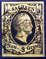 SAXE                     N° 5                    OBLITERE - Sachsen
