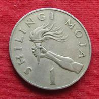 Tanzania 1 Shilingi 1972 KM# 4  Tanzanie Shilling - Tanzania