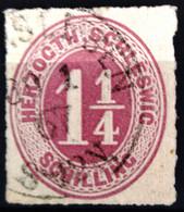 SCHLESWIG-HOLSTEIN                     N° 11                   OBLITERE - Saxony