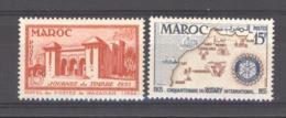 Maroc  :  Yv  343-44  ** - Unused Stamps