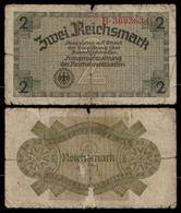 GERMANY BANKNOTE 2 REICHSMARK (1940-1945) THIRD REICH VG (NT#05) - Other