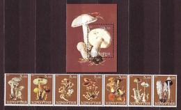 Mushrooms MNH M/S S/S FANTASY LABELS MUSH28 - Fantasy Labels