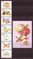 Mushrooms MNH M/S S/S FANTASY LABELS MUSH26 - Fantasy Labels