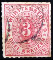 WURTEMBERG                     N° 38                  OBLITERE - Saxony