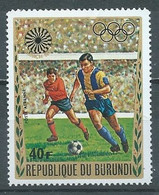 Burundi Poste Aérienne YT N°248 Jeux Olympiques De Munich 1972 Football Neuf ** - 1970-79: Neufs