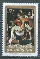 Burundi Poste Aérienne YT N°270 Päques Fleuries 1973 Neuf ** - 1970-79: Neufs