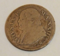 Moneta 10 Soldi 1869 Stato Pontificio Ultimo Sovrano PIO IX - Feudal Coins