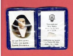 RELIQUAIRE RELIQUE DE Sainte María Maravillas Pidal Y Chico De Guzmán MADRE MARAVILLAS DE JESUS - Religion & Esotericism