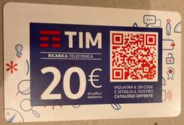 REF. 87 -  TIM - 20 EURO - QR CODE - VALIDITA . 31.03.2019 - [2] Sim Cards, Prepaid & Refills