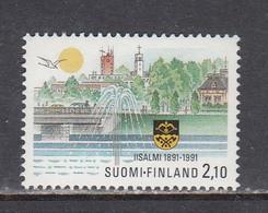 Finland 1991 - 100 Years Of The City Of Lisalmi, Mi-Nr. 1156, MNH** - Nuevos