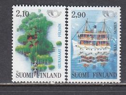 Finland 1991 - NORDEN: Tourism, Mi-Nr. 1142/43, MNH** - Nuevos