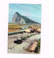 La Linea De La Conception.Douane Et Au Fond Le Rocher De Gibraltar.Expédié à Villemonble (France).Oldtimer - Customs