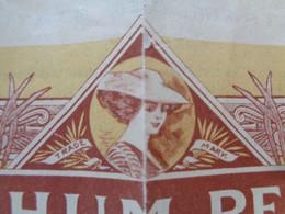 """FRANCE -33 - BORDEAUX 1923 - LE RHUM """" PEPITA """" - PART DE FONDATEUR - PEU COURANT - Zonder Classificatie"""