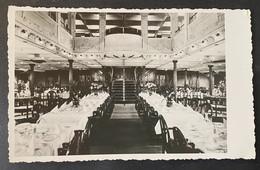 Dampfschiff ,Königin Maria'/ Speisesaal/ältere Fotokarte - Steamers
