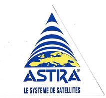 Autocollant ASTRA - Système De Satellites - - Adesivi