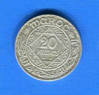 Maroc  20  Fr   1347  Arg - Morocco