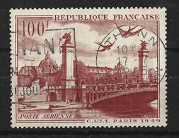 POSTE AERIENNE FRANCAISE - YT 28 - OBLITERE - 1927-1959 Gebraucht