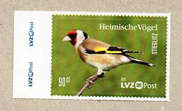 BRD - Privatpost -  LVZ   - Vögel , Birds - Stieglitz (Carduelis Carduelis) - Sperlingsvögel & Singvögel