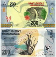MADAGASCAR 200 ARIARY 2017 P 98 - UNC - Madagascar