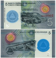 NICARAGUA 5 CORDOBAS 2020 P NEW - UNC (POLYMER) - Nicaragua