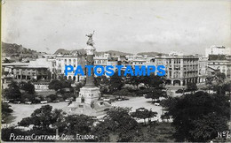 157247 EQUATOR GUAYAQUIL PLAZA CENTENARIO POSTAL POSTCARD - Unclassified
