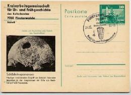 DDR P79-20-82 C192 Postkarte PRIVATER ZUDRUCK Schädeltrepanation Finsterwalde Sost. 1982 - Privatpostkarten - Gebraucht