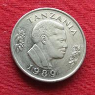 Tanzania 1 Shilingi 1989 KM# 22 Tanzanie Shilling - Tanzania