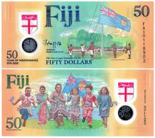 FIJI 50 DOLLARS 2020 P NEW - UNC (POLYMER) - Fiji