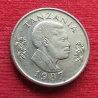 Tanzania 1 Shilingi 1987 KM# 22 Tanzanie Shilling - Tanzania