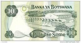 BOTSWANA P. 20a 10 P 1999 UNC - Botswana
