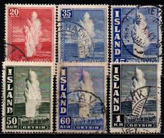ISLANDA - 1938 - GEYSER - USATI - Gebraucht