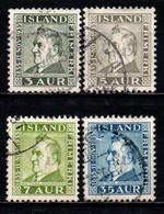 ISLANDA - 1935 - MATHIAS JOCHUMSSON (1835-1920) - POETA - USATI - Gebraucht