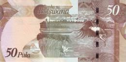 BOTSWANA P. 32a 50 P 2012 UNC - Botswana