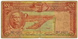 Angola - 500 Escudos - 15.08.1956 - Pick 90 - Série 2 HT - Roberto Ivens - PORTUGAL - Angola
