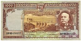 Angola - 1000 Escudos - 15.08.1956 - Pick 91 - Série 10 FHB - Brito Capelo - PORTUGAL - Angola