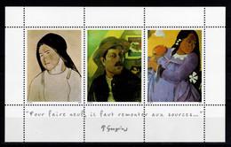 Errinophilie - Gauguin, Bloc De 3 Vignettes Encadrées N** , De 1997 - Otros