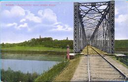 Kingdom YU. Croatia. Sisak. The Railway Bridge. - Kunstwerken