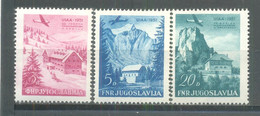 1951 International Mountaineering And Climbing Federation Meeting, Bled MNH - Nuevos