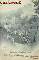 SENTIER DE COVATANNAZ VUILLEBOEUF A SAINTE-CROIX CANTON DE VAUD ENVOI A ORBE 1900 - VD Vaud