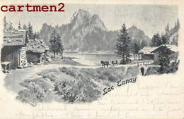 LAC TANAY CACHET MIEX VOUVRY CANTON DU VALAIS ENVOI A ORBE SUISSE 1900 - VS Valais