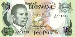 BOTSWANA P. 12a 10 P 1992 UNC - Botswana
