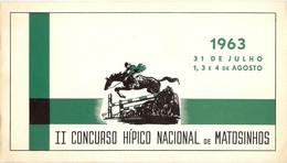 PORTUGAL-MATOSINHOS-HIPISMO-1963 - Unclassified