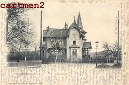 GROSSSCHÖNAU VILLA HAEBLER GÖRLITZ Großschönau Deutschland ENVOI A ORBE SUISSE 1900 - Goerlitz