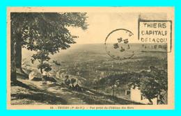A829 / 339 63 - THIERS Vue Prise Du Chateau Des Hors - Thiers