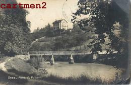 RARE CARTE PHOTO : ORBE PONT DU PUISOIR CANTON DE VAUD SUISSE A. VELAY - VD Vaud