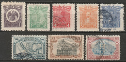 Mexico 1915 Sc 506/14  Partial Set Most Used Some Thins - Mexique
