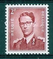 BELGIE Boudewijn Bril * Nr 925 * Postfris Xx * WIT  PAPIER - 1953-1972 Occhiali