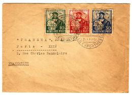 45617 -  De HANNOVER Pour La France - Zone Anglo-Américaine